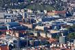 Stuttgart Innenstadt mit Schlossplatz, altem und neuem Schloss