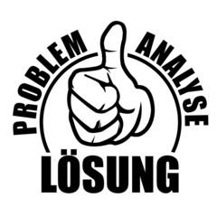 problem analyse lösung damuen hoch ok oben