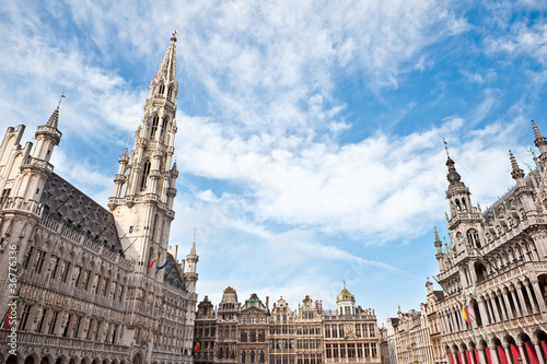 Fototapeta Grand Place in Brussels Belgium
