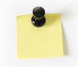 Pinned sticky note