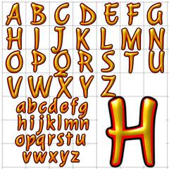 abc alphabet background julee design