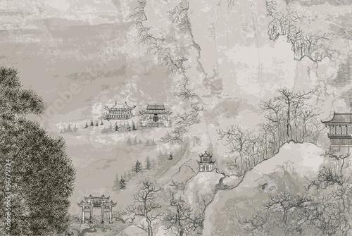 Chinese landscape - 36779724