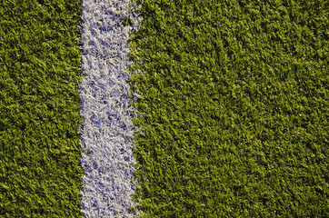 synthetical sport field cover background