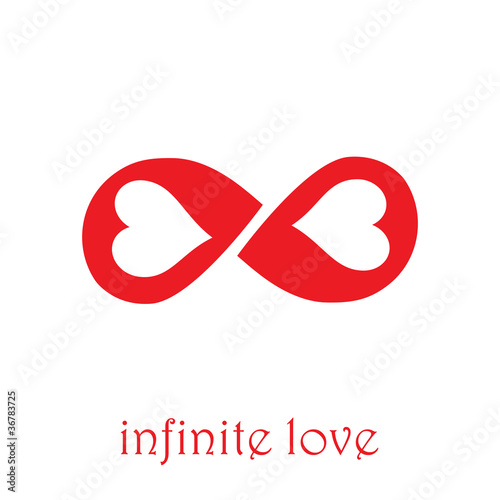 Logo infinite love # Vector