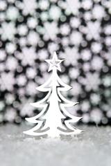 sapin de Noel brillant
