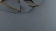 Moderner Abstrakter Hintergund Voronoi 3D