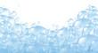Leinwandbild Motiv Bubbles foaming bath suds