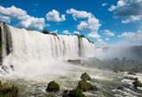 Fototapety The Iguazu waterfalls. Argentina, Brazil, South America