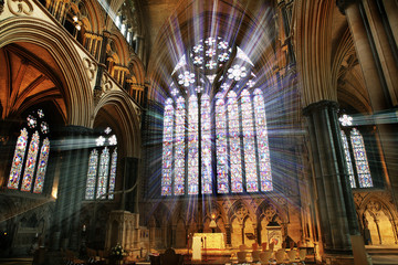 cathedral window light