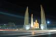 Democracy monument at night, Bangkok Thailand