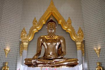 Famous golden Buddha