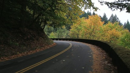 Historic Hwy 30 in Portland Oregon