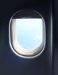 Jet plane cabin window