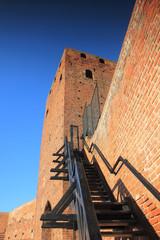 Mazovian dukes castle in Czersk, Mazovia, Poland