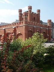 Калининград, Россия. Королевские ворота
