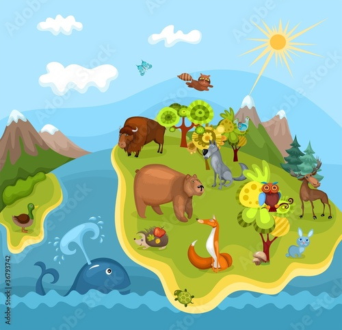 Naklejka Animal Planet