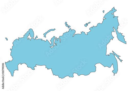 俄罗斯信息国家国旗图形图标地图外形孤立形状彩色按