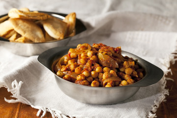 Chickpea Curry Dinner