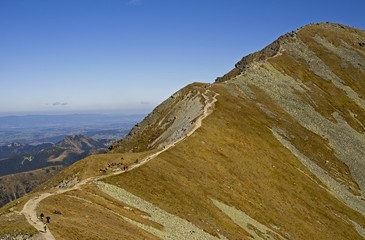 Western Tatras (Rohace), view from Tri kopy peak