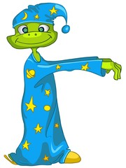 Cartoon Character Sleepwalker