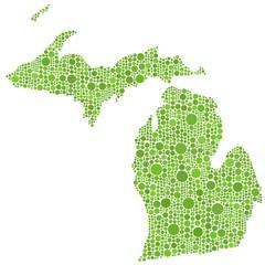 Map of Michigan (USA)