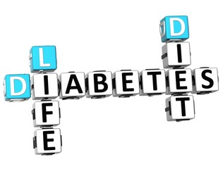 3D Diabetes Life Diet Crossword