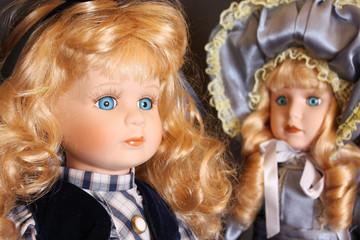 Porcelain dolls detail