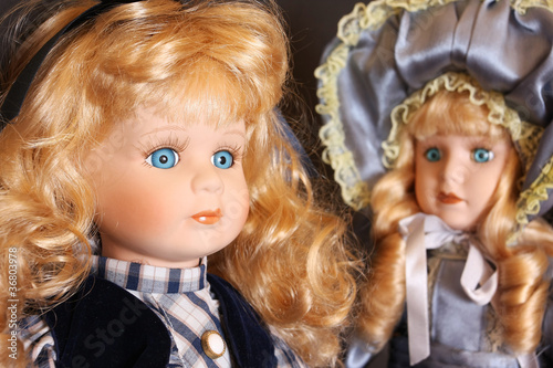 Porcelain dolls detail