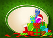 Christmas gifts. Vector illustration