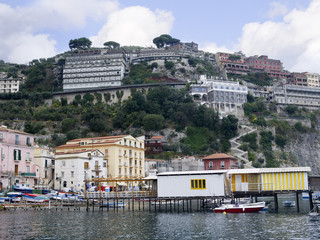 Marina Grande the old port of Sorrento Italy