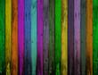 fond planches de bois multicolores