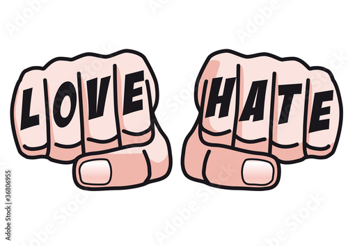 Poing_Hate_Love