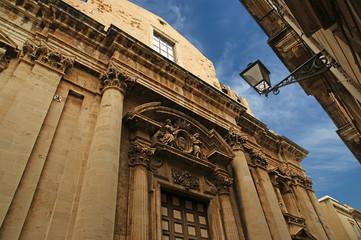 CATHEDRAL OF SYRACUSE (Siracusa, Sarausa)
