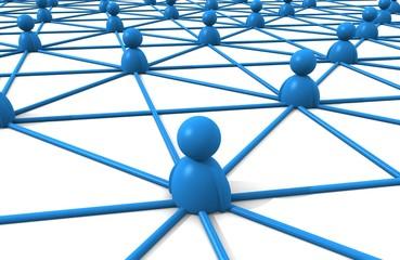 red de personas