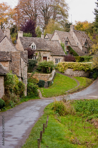 Arlington Row in Bibury in the Cotswolds