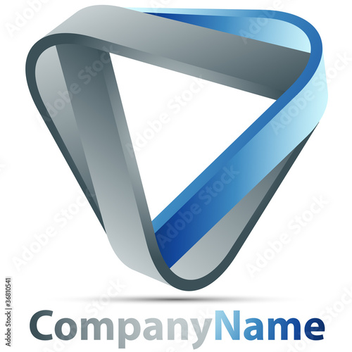 Impossible triangle logo