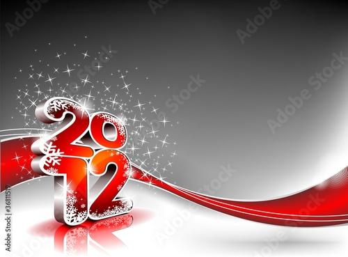 Happy New Year 2012 design