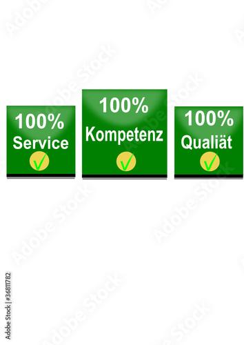 Service Qualität Kompetenz