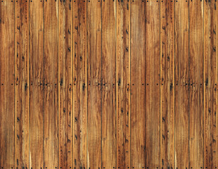 vintage brown high quality impregnated massive wooden planks wit