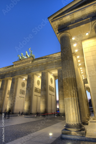 Brandenburg Gate, Berlin (Germany) / Brandenburger Tor