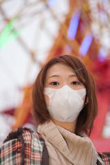 Princess MAIKO Benicio / flu mask / Winter vacation