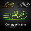 electric bike logo 1 (black bkgnd)