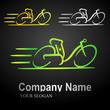 electric bike logo 1 (black bkgnd)