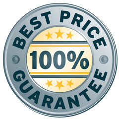 best price guarantee stamp label element