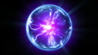Plasma ball in HD, looped.