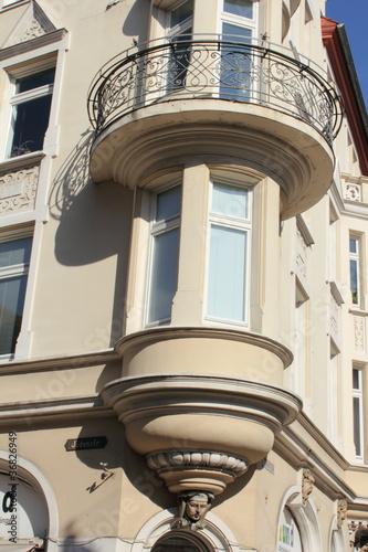 Idyllischer Balkon