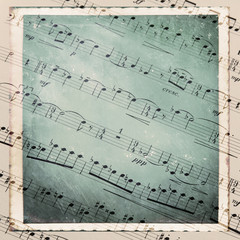 Musical texture vintage