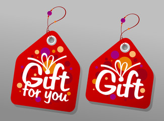 Gift collection labels