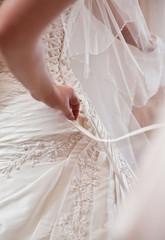 dressing wedding