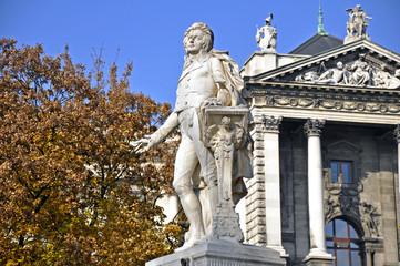 Wolfgang Amadeus Mozart, Denkmal, Wien